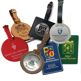 Badges de sac de golf